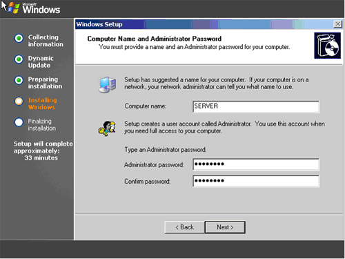 installwindows200313